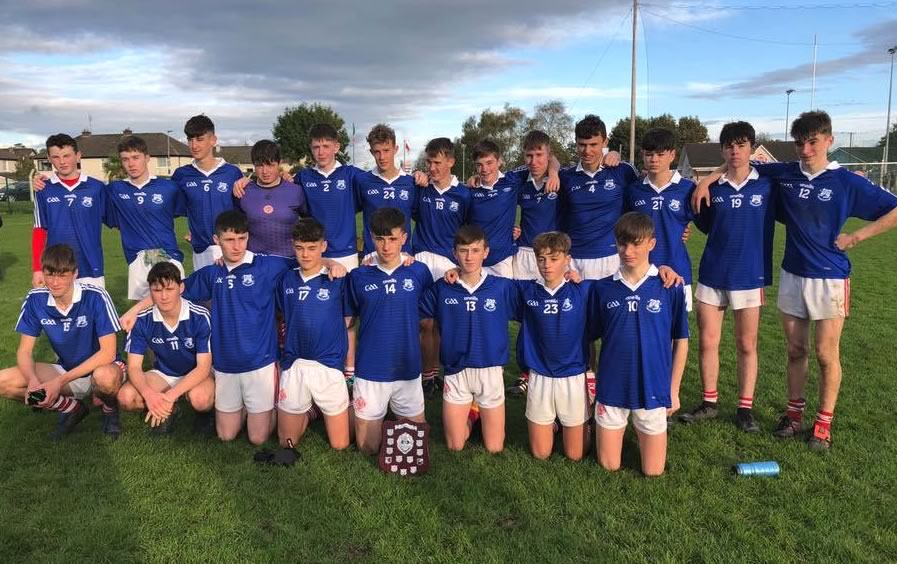 Fe16 Footballers Win Silverware